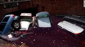 Car Flooded in Hurricane Sandy