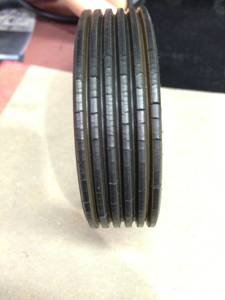 Cracking VW serpentine belt