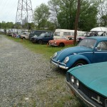 Old Volkswagen lot