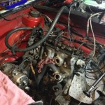 MK1 VW cabriolet engine swap