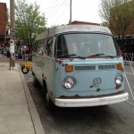 VW bus in Noda