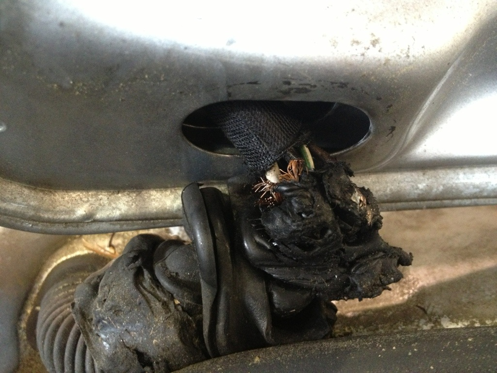 Volkswagen wiring issue