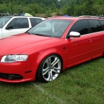 Awesome Audi wagon at Southern Worthersee