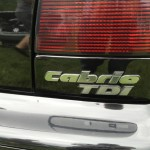 This was a TDI Cabrio from Canada at Southern Worthersee