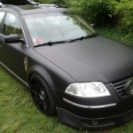 Lowered Passat Wagon at Southern Worthersee