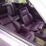Custom VW interior at Southern Worthersee