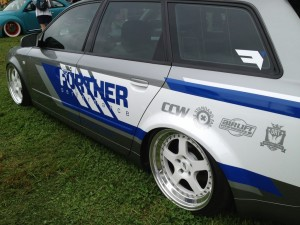 Custom VW wagon at Southern Worthersee