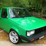 Volkswagen caddy pick up at Southern Worthersee