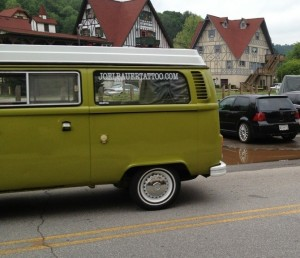 Green Van at Southern Worthersee
