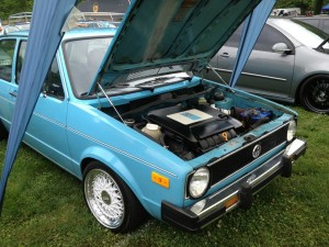 MK2 MK1 vr6 engine swap @southern Worthersee
