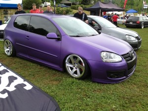 mk5 Air ride Southern Worthersee