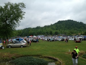 main show area at Southern Worthersee