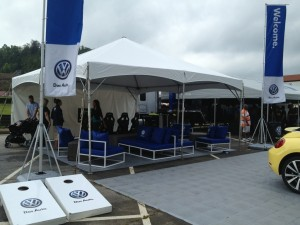 Volkswagen VW booth at Southern Worthersee