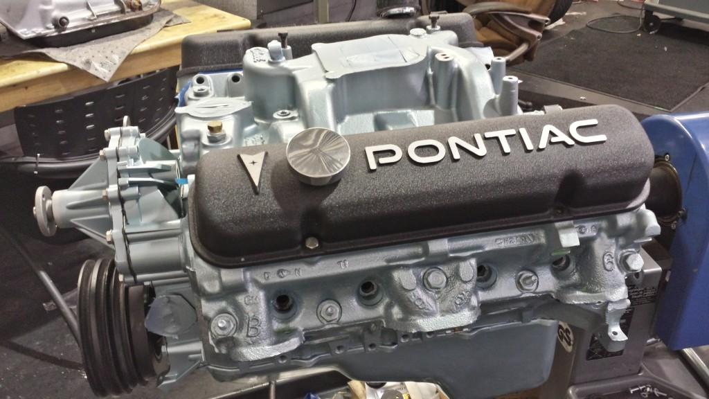 Pontiac Engine Build