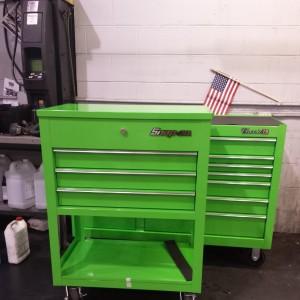Green Snapon Tool box