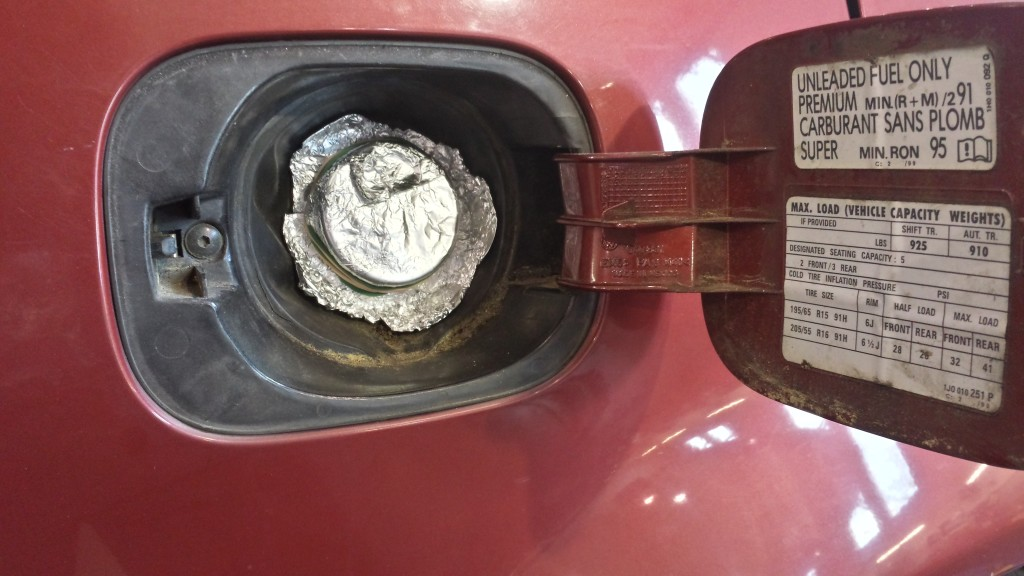 Bad VW gas Cap
