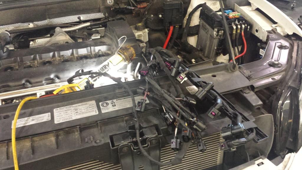 Volkswagen wiring problem engine