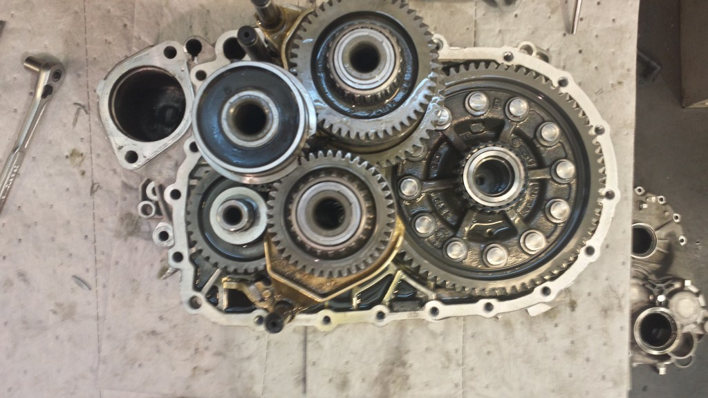 VW transmission problem