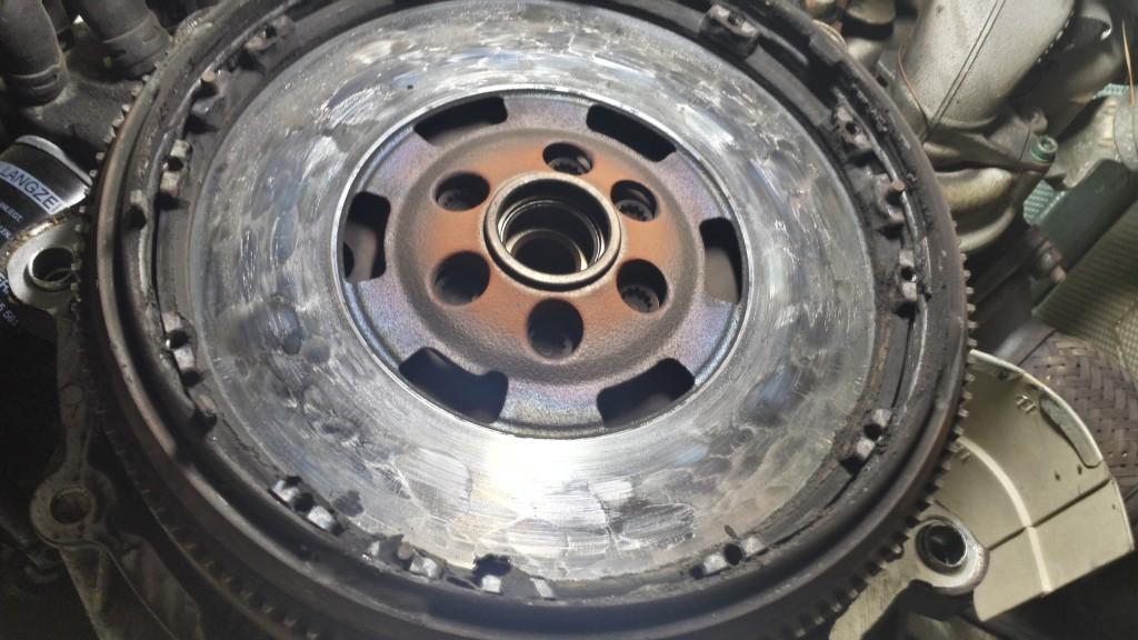 Failed VW Clutch