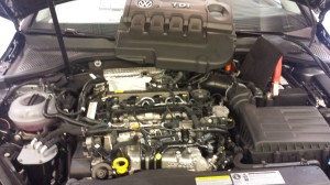 New TDI Golf Engine