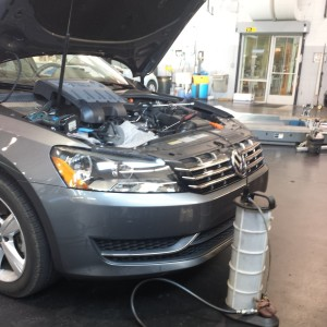 Passat TDI Oil Change