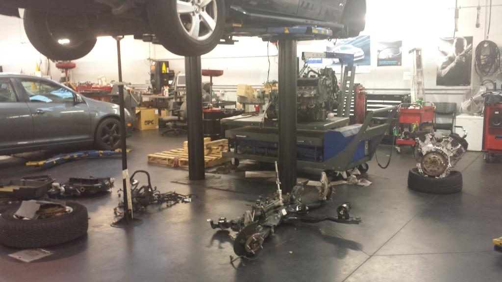 VW Engine failure Routan