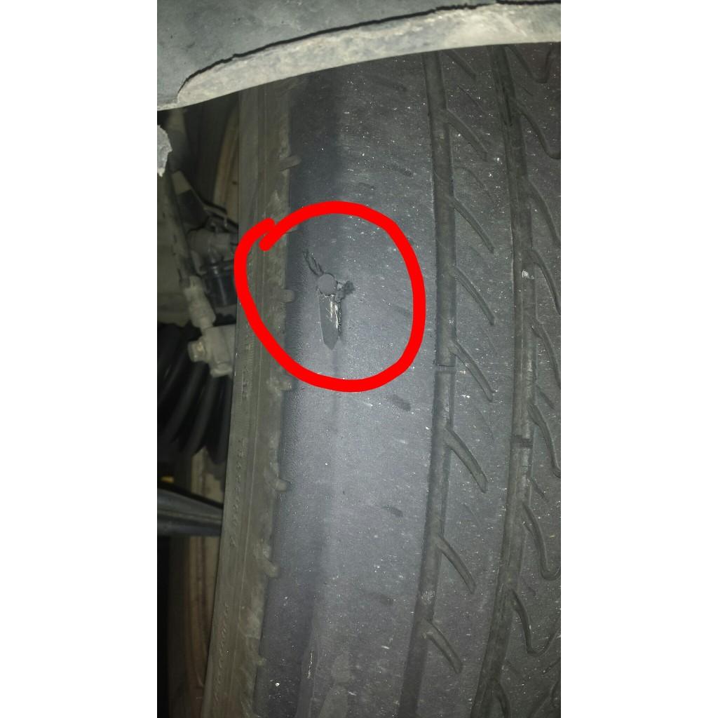 Bad VW tire repair