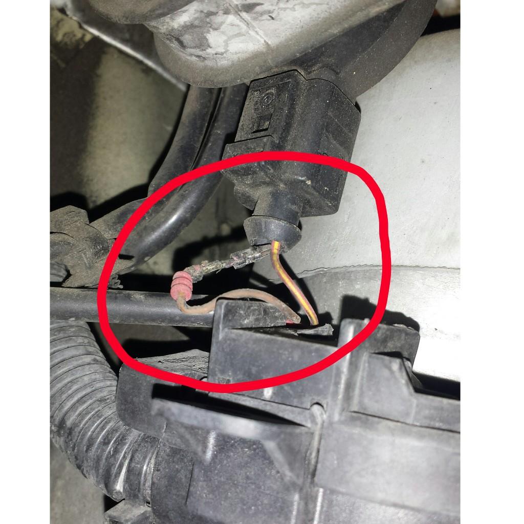 wiring problem VW