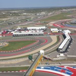 Top of the observation deck at COTA