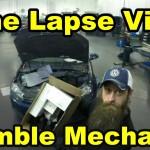 Auto Mechanic Time Lapse