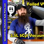 leaking 2.5 Vacuum pump