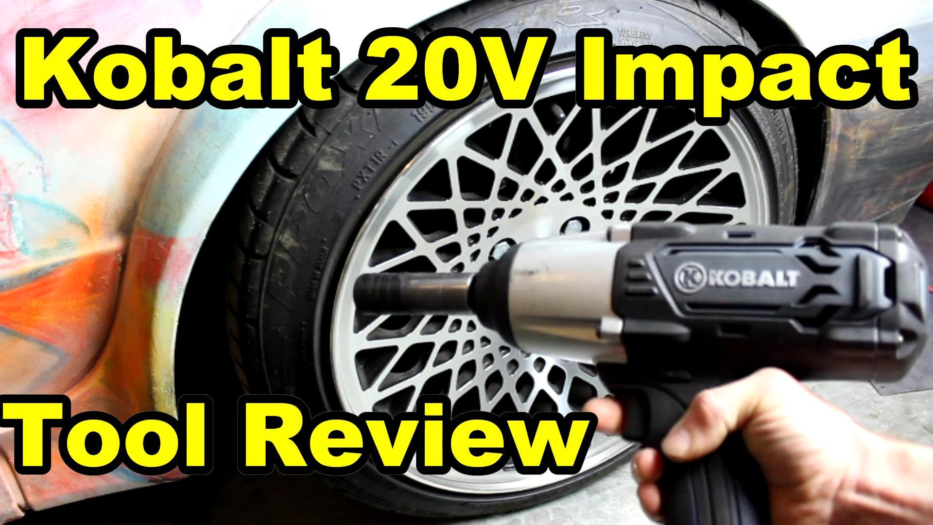 kobalt review 20v impact