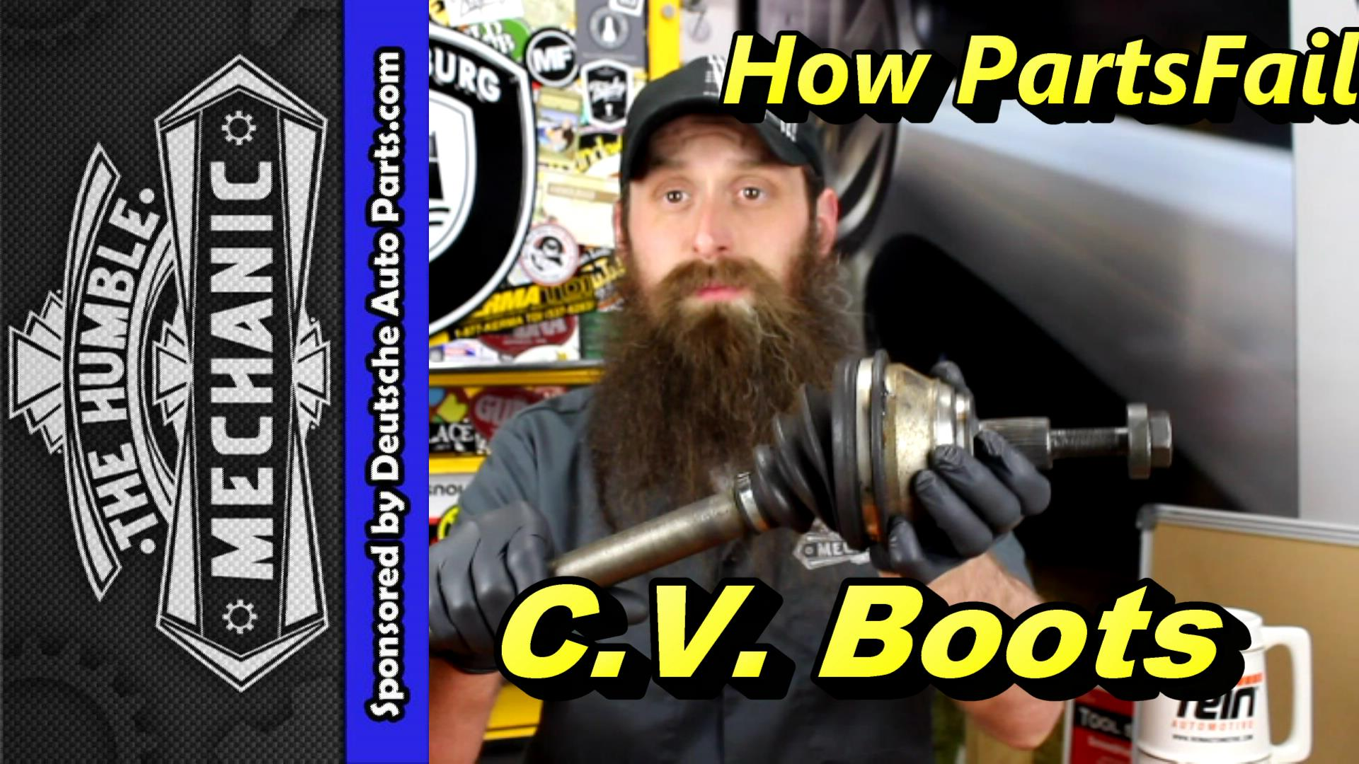 How VW C.V. Boots Fails
