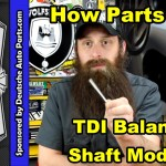 TDI Balance shaft module