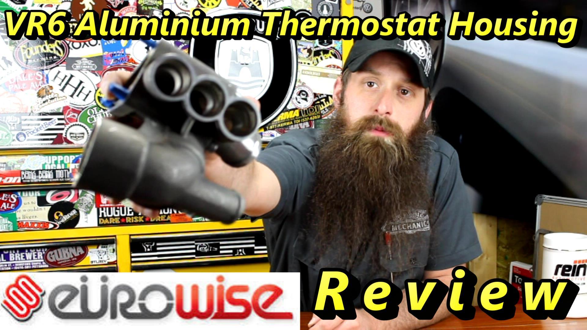 Aluminium VR6 housing