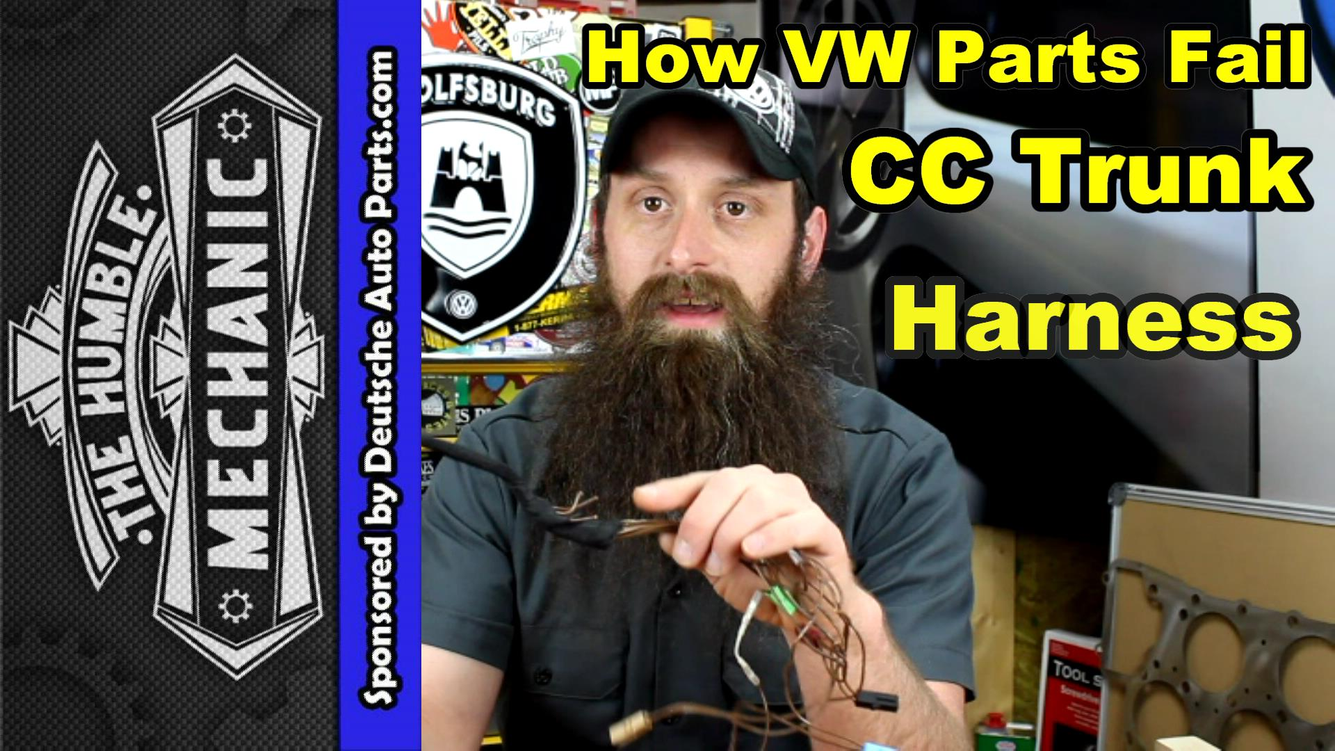How The VW CC Trunk Harness Fails ~ Video