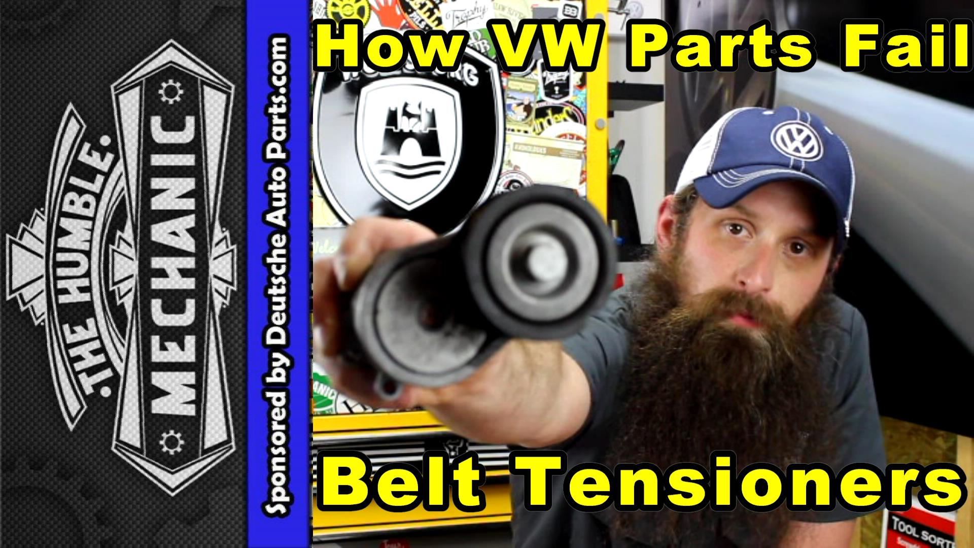 failed VW belts
