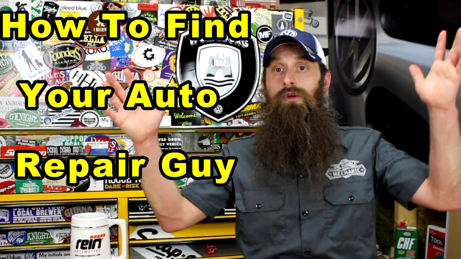 auto repair guy