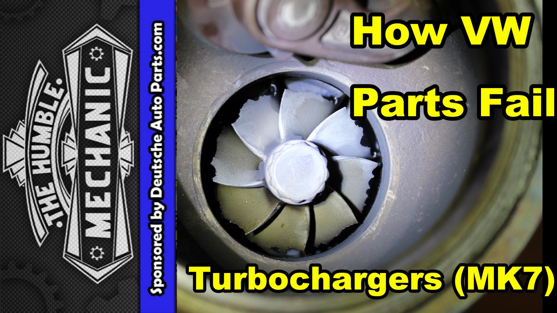 failed VW Turbo