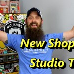 Touring The New Shop and Studio