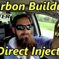 Carbon buildup direct injection