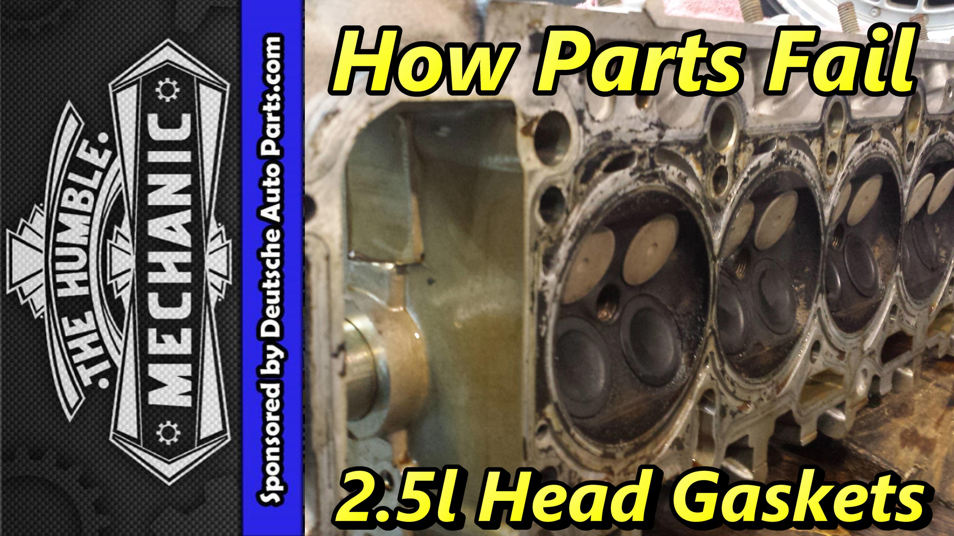 How VW Head gaskets fail