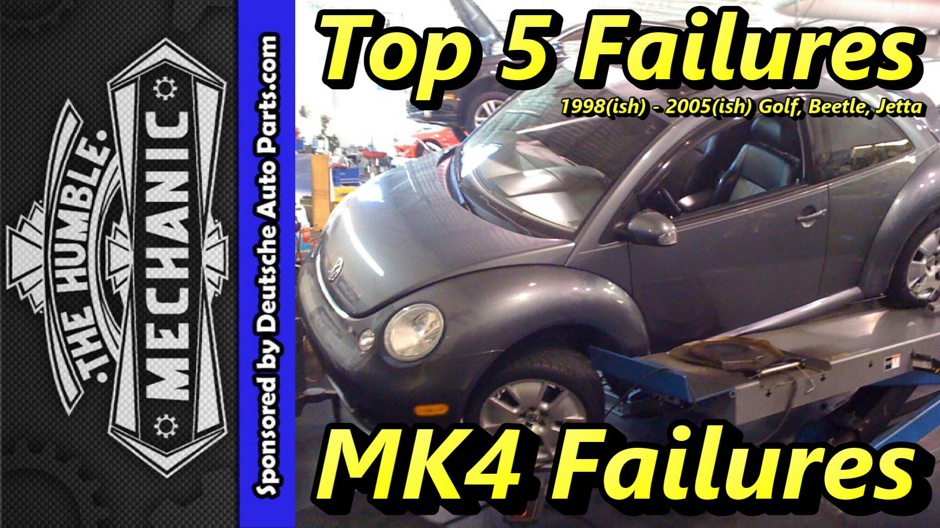 99 volkswagen beetle fuse box top 5 failures 1999 2005 mk4 golf  beetle and jetta     humble mechanic  top 5 failures 1999 2005 mk4 golf