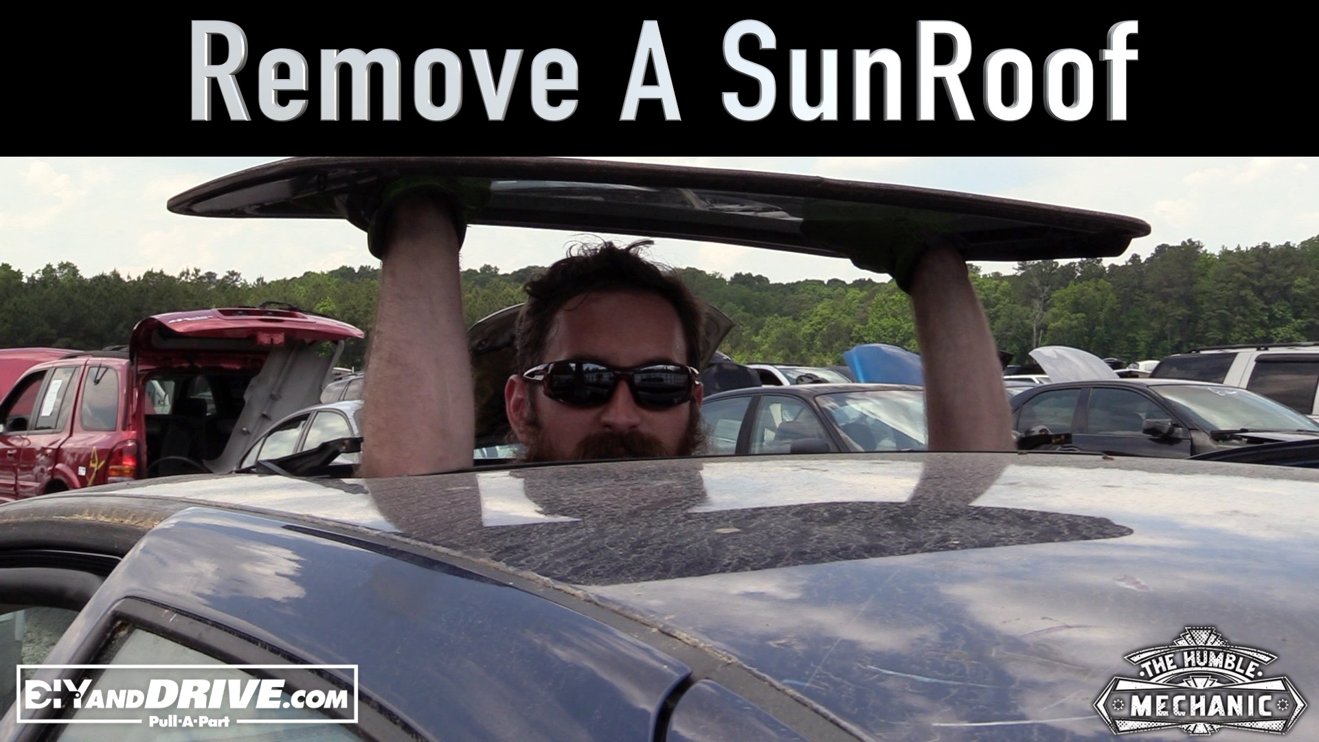 How to remove a sunroof