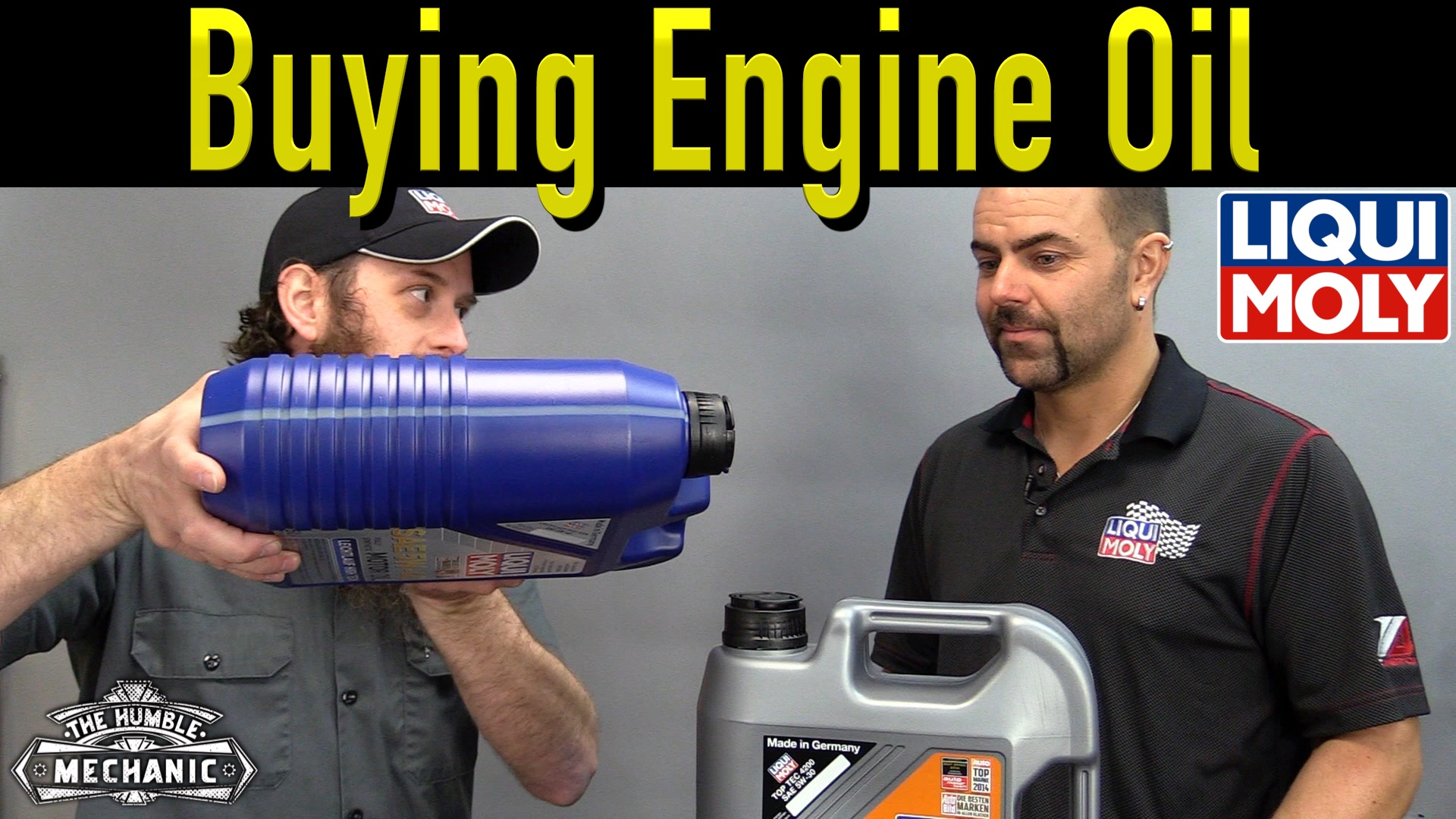 buying the right engine oil