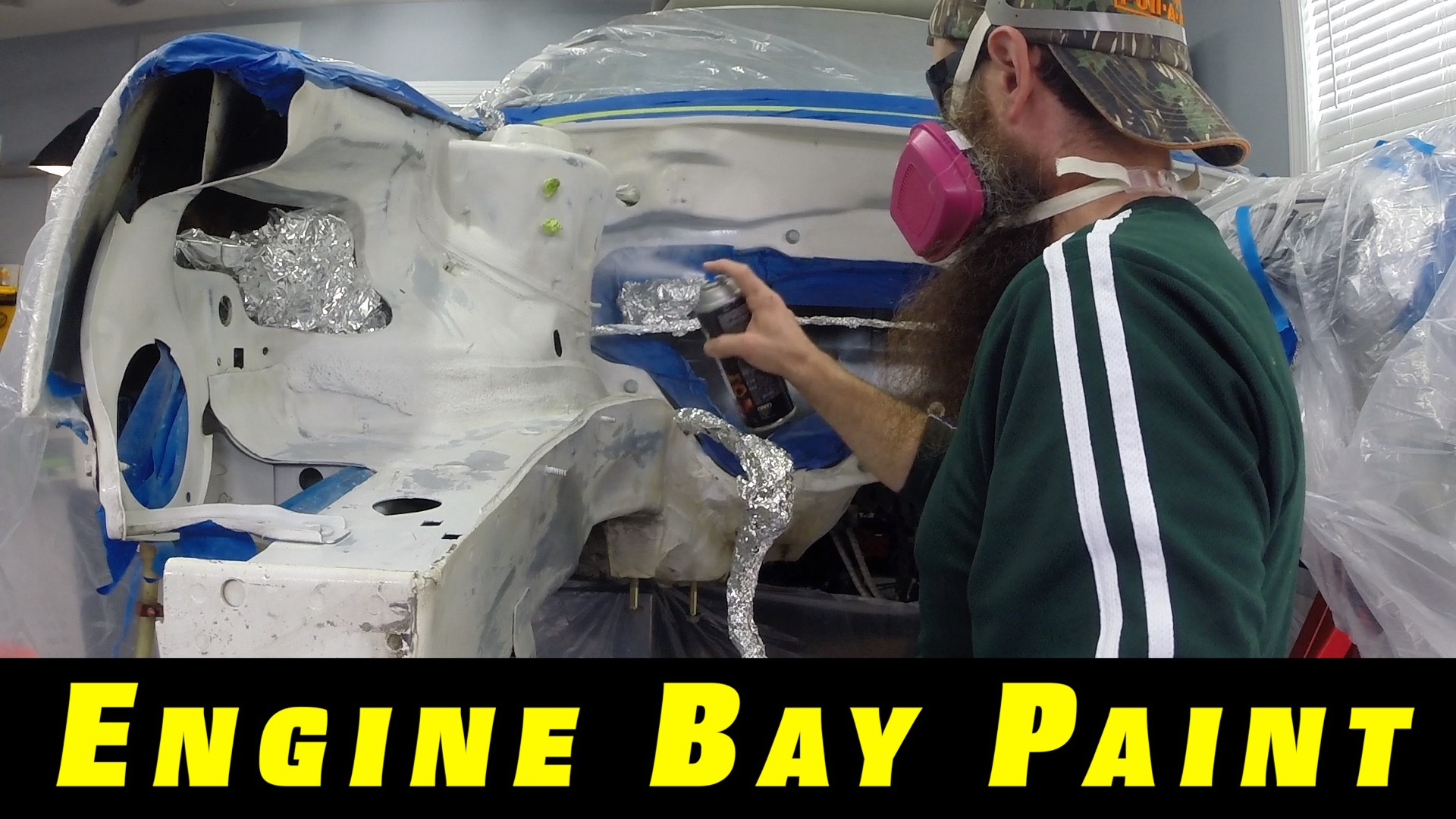 Painting Engine Bay