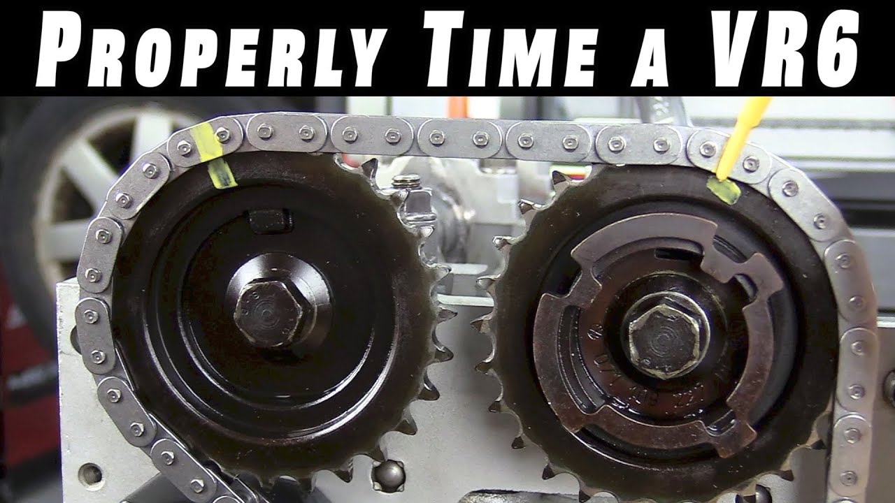 How To Properly Time and Install Timing Chains on a VR6