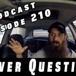 Viewer Car Questions ~ Audio Podcast Episode 210