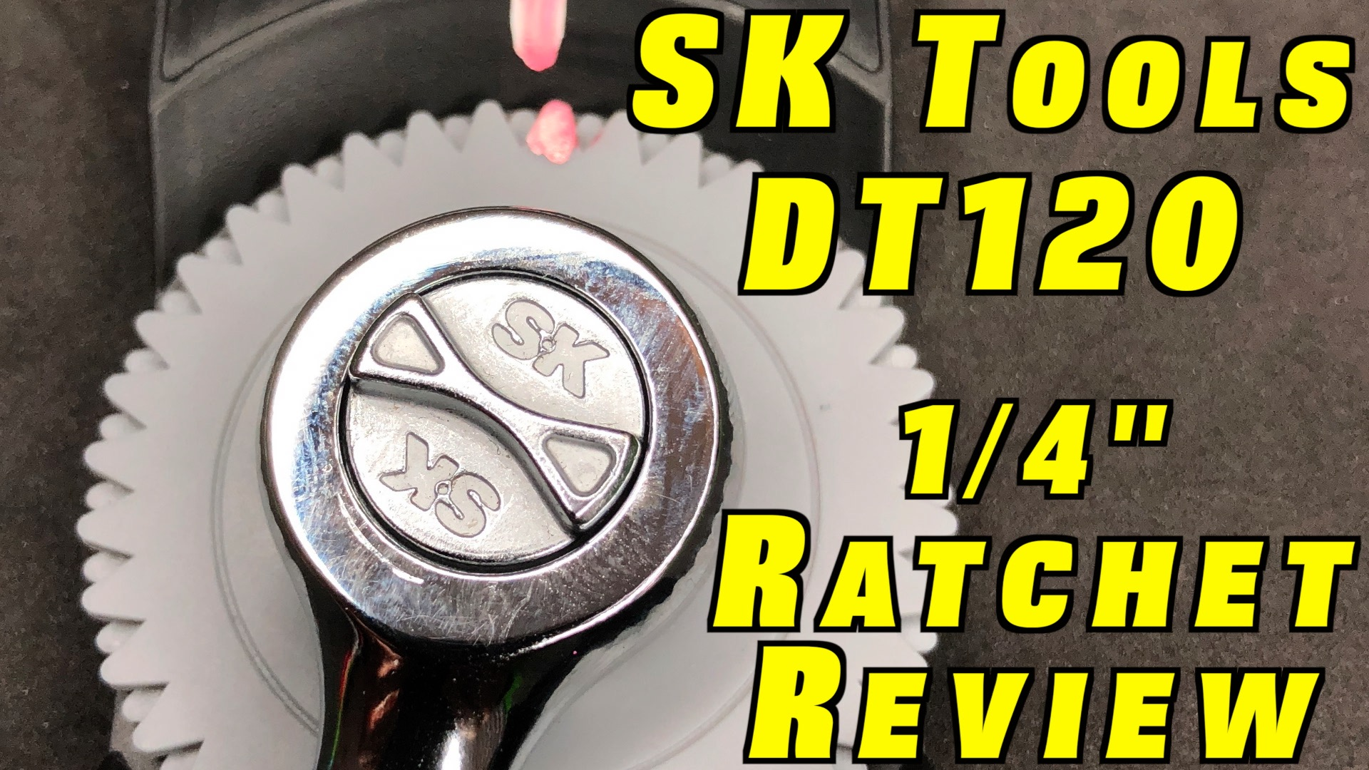 "SK Tool Review ~ DT120 1/4"" Drive Ratchet"