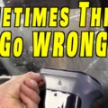 Making Car Repair Mistakes and Making It Right